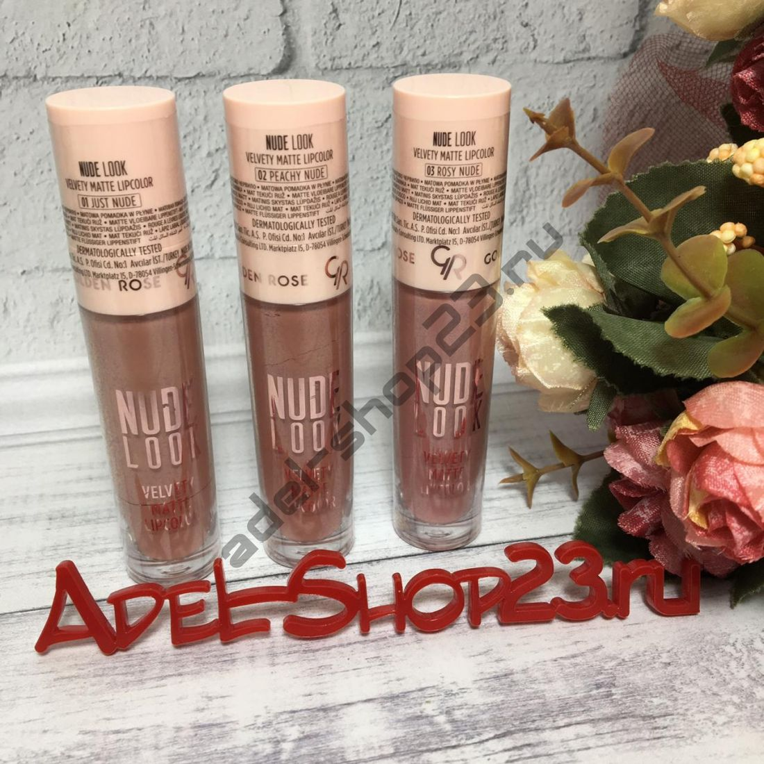 "Golden Rose -  Губная помада ""Nude look perfect matte lipstick"""