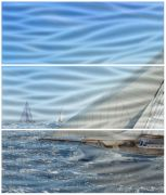 Regatta-3 A Wave (комп х3) Панно 60х50