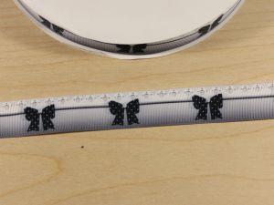 Лента репсовая с рисунком, ширина 25 мм, длина 10 м, Арт. ЛР5783