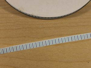 Лента репсовая с рисунком, ширина 9 мм, длина 10 м, Арт. ЛР5807-1