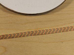 Лента репсовая с рисунком, ширина 9 мм, длина 10 м, Арт. ЛР5809