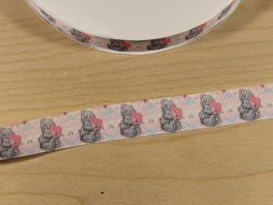 `Лента репсовая с рисунком, ширина 25 мм, Арт. Р-ЛР5760