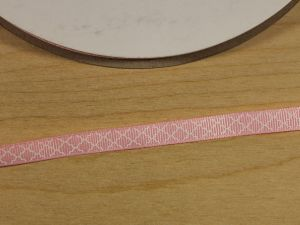 `Лента репсовая с рисунком, ширина 9 мм, Арт. Р-ЛР5814-1