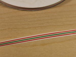 `Лента репсовая с рисунком, ширина 9 мм, Арт. Р-ЛР5812