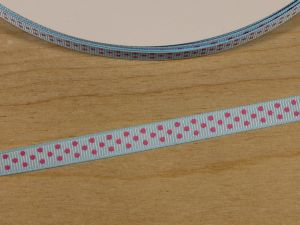 `Лента репсовая с рисунком, ширина 9 мм, Арт. Р-ЛР5815-4