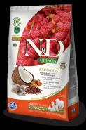 Farmina N&D Dog Quinoa Skin&coat Herring Сельдь, киноа, кокос и куркума. Здоровье кожи и шерсти 800г