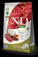 Farmina N&D Quinoa Skin&coat Duck Утка, киноа, кокос и куркума. Здоровье кожи и шерсти.800г
