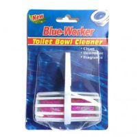 Гигиенический блок для унитаза Blue Worker, 1 шт, цвет розовый