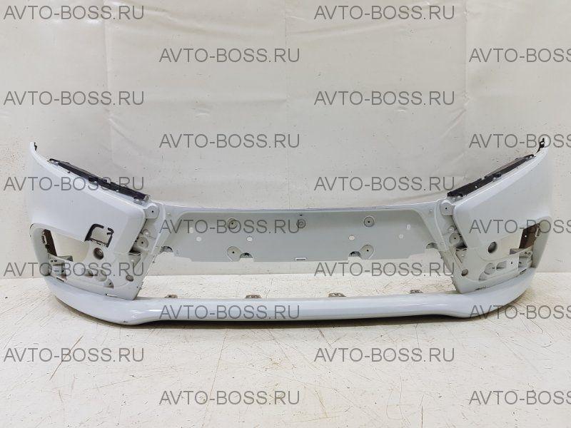Бампер передний Lada Vesta в белый цвет
