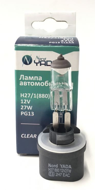 Лампа 12V H27/1 900127 NORD YADA
