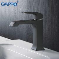 Gappo Aventador G1050 Смеситель для раковины (черный)