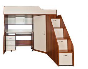 Набор детской мебели (кровать-чердак) 203