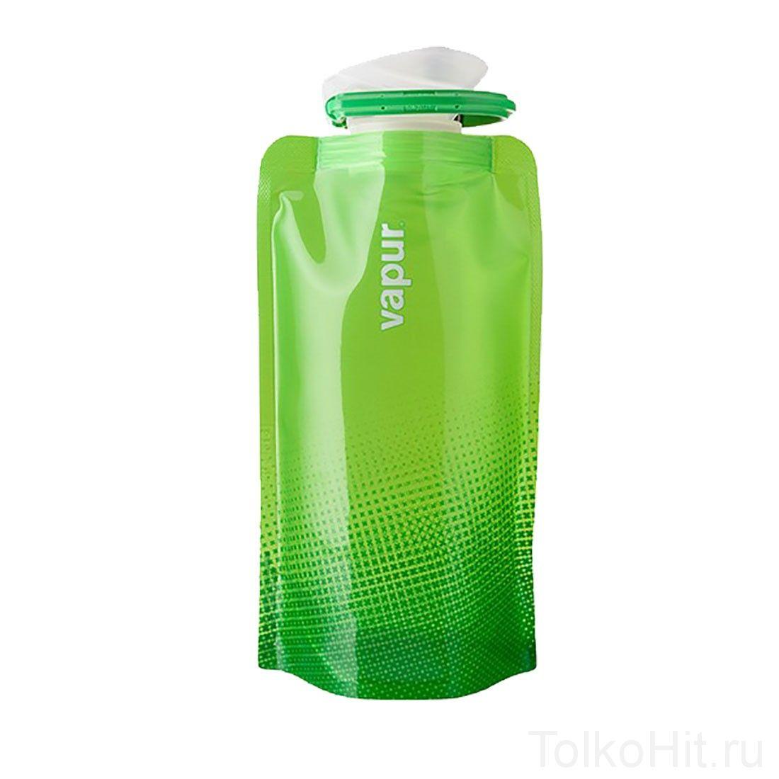 Складная бутылка для воды  VAPUR Зеленый