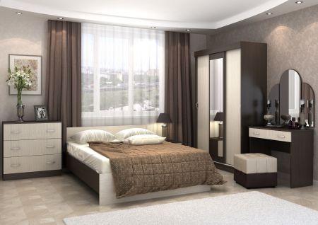 Спальный гарнитур «Бася»