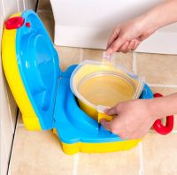 Портативный складной детский горшок-чемоданчик The Handy Potty (4)