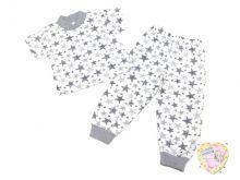 Пижама звезды кор. рук. C-PJ023-SU (код 01815-1) Мамин Малыш OPTMM.RU