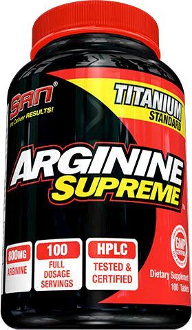 Arginine Supreme от SAN 100 таблеток