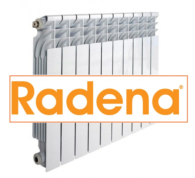 Радиатор алюминиевый RADENA 500/80 11 секции