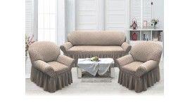 Чехлы на диваны и кресла с оборкой