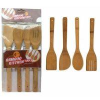 Деревянные кухонные лопатки, набор из 4-х шт (2)