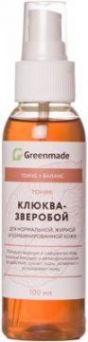 ГринМейд - Тоник Клюква-Зверобой для нормальной, жирной и комбинированной кожи
