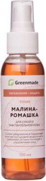 ГринМейд - Тоник Малина-Ромашка для сухой и чувствительной кожи
