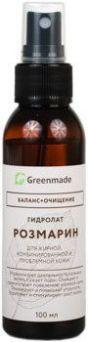 ГринМейд - Гидролат Розмарин для жирной, комбинированной и проблемной кожи