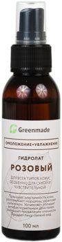 ГринМейд - Гидролат Розовый для всех типов кожи, особенно для сухой и чувствительной кожи