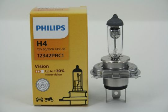 Лампа 12V H4 60/55W standart premium 12342PR Philips