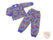 """Пижама для мальчика код 01814 C-PJ023-SU (супрем формула 1) """"Мамин Малыш"""""""