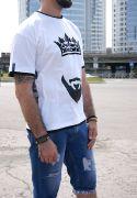 черно-белая мужская футболка