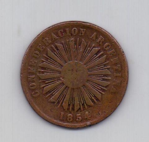 4 сентаво 1854 года Редкость! Аргентина