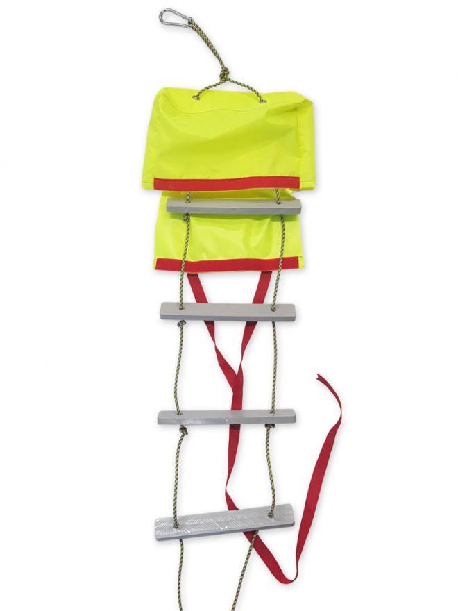 Трап веревочный 5 ступенек с сумкой