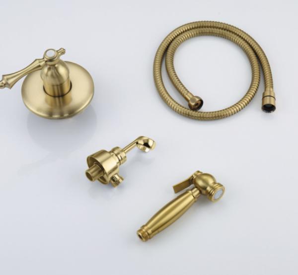 Faop A7205-4 Встроенный гигиенический душ (бронза)