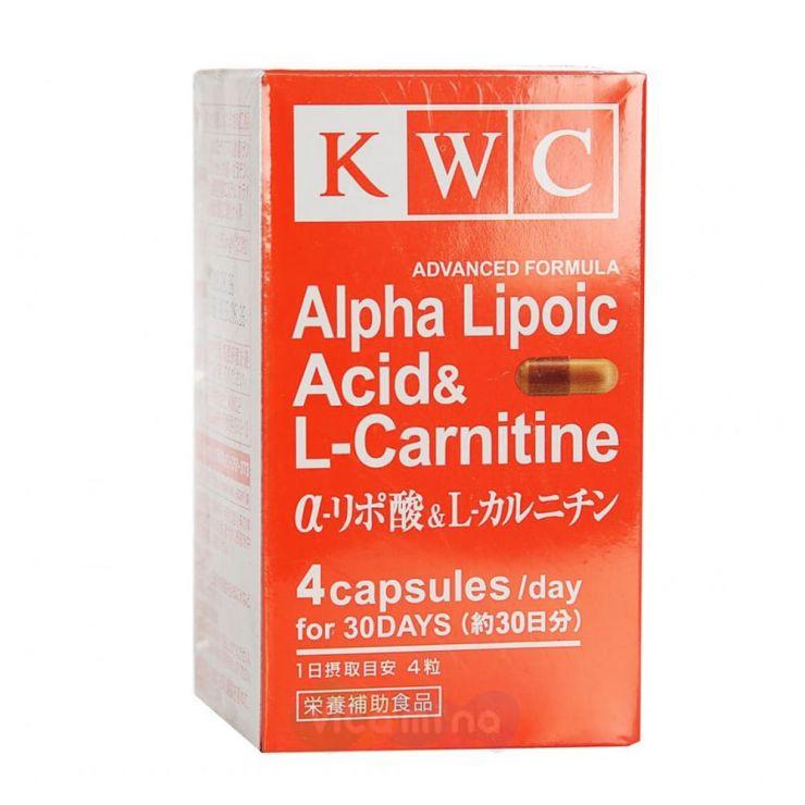 KWC Альфа-липоевая кислота и L-карнитин улучшенная формула