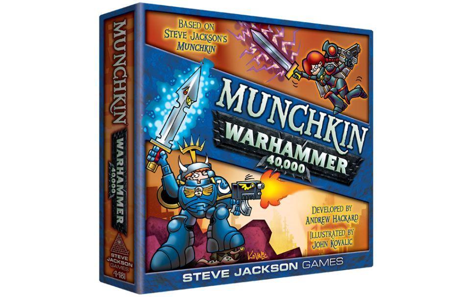 Манчкин. Warhammer 40000