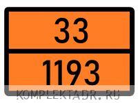 Табличка 33-1193