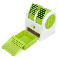 Настольный кондиционер-вентилятор HY-168, цвет зеленый (2)