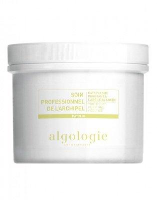Очищающая маска-компресс с белой глиной для жирной и смешанной кожи 100 г Algologie