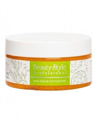 Плотный скраб с АНА-кислотами и сахарными гранулами для пилинга кожи тела 200 мл. Beauty Style
