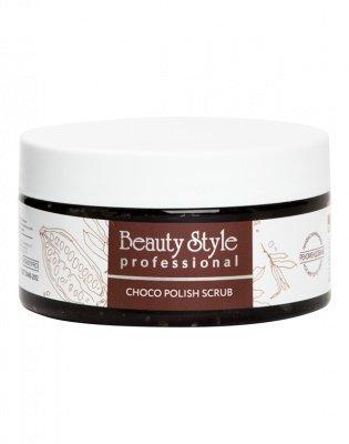 "Сахарный полиш-скраб для тела ""Choco polish scrub"" 200 мл. Beauty Style"