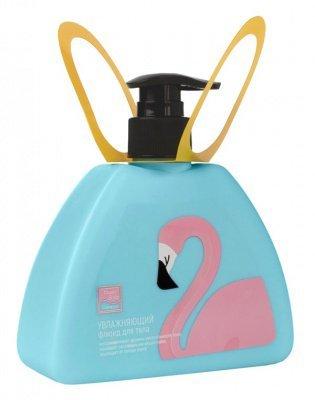 Увлажняющий флюид для тела Lovely care (Дизайн Фламинго), Beauty Style, 300 мл.