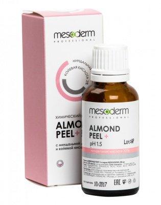 Алмонд Пил + (Миндальная и коевая кислота, 30%+2%, Ph 1,5 ) 30 мл, MESODERM
