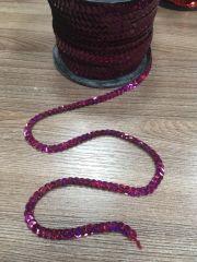 Фиолет Лента с пайетками