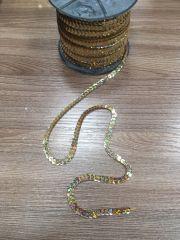 Золото Лента с пайетками