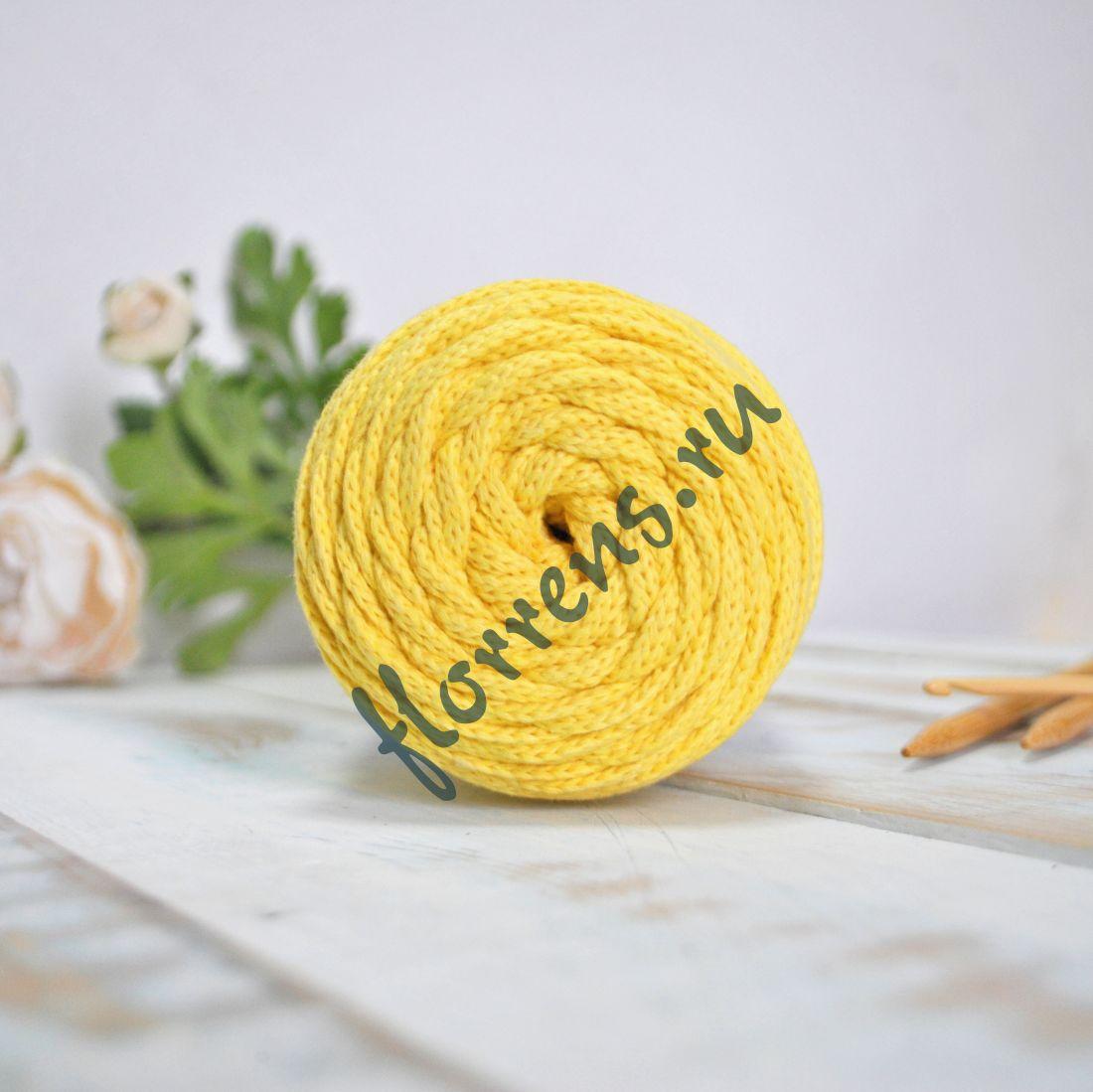 Шнур для вязания / желтый