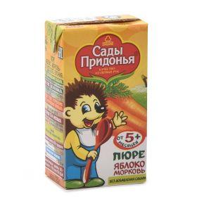 Сады Придонья яблоко-морковь 125г