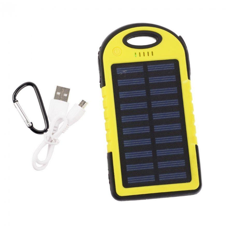 Power Bank на солнечных батареях Solar 12000 mAh