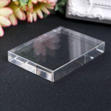Акриловый блок для прозрачных штампов 50х67х10мм 4379690