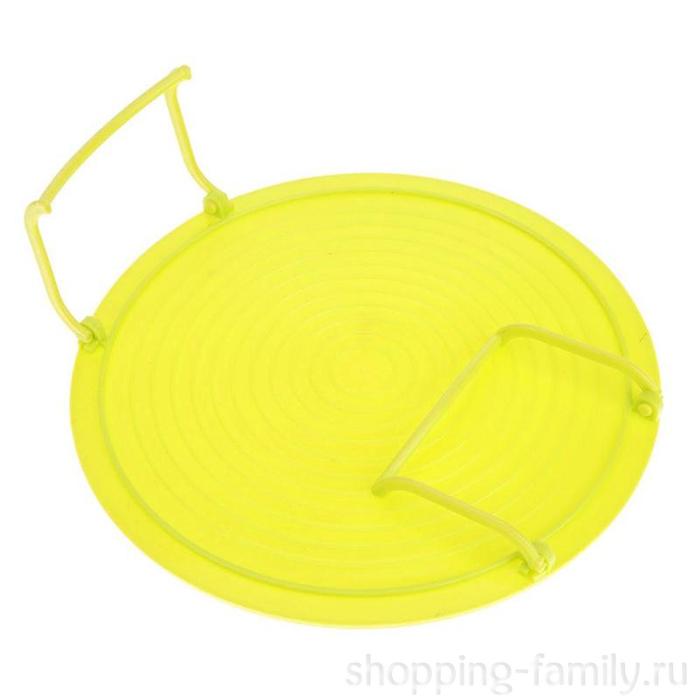 Многофункциональная подставка для подогрева блюд в микроволновке, Цвет Жёлтый
